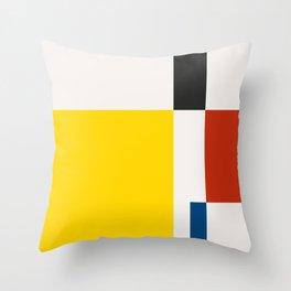 Mid Century Modern Vintage 21 Throw Pillow