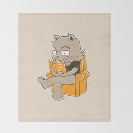 What's Bitcoin Throw Blanket