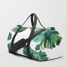 tropical Leaves NEW||| Duffle Bag