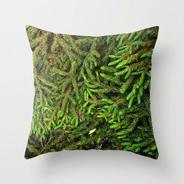 Boughs Throw Pillow