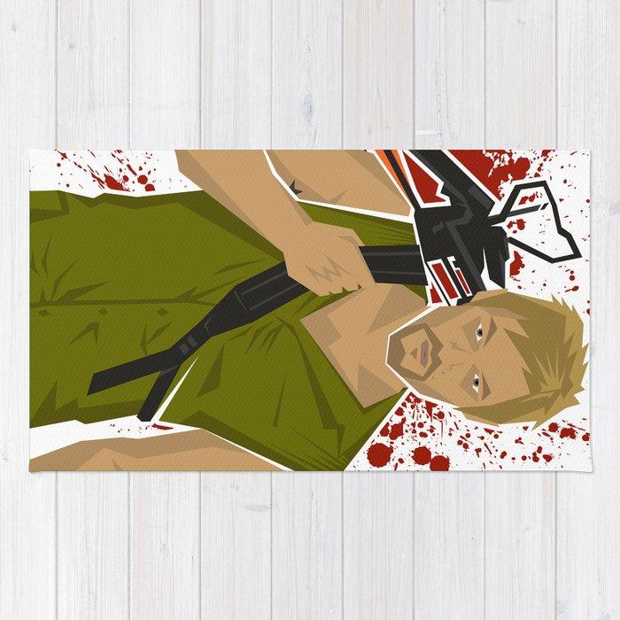 The Walking Dead Daryl Dixon (Norman Reedus) Rug