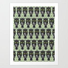 Owling Pt4 Art Print