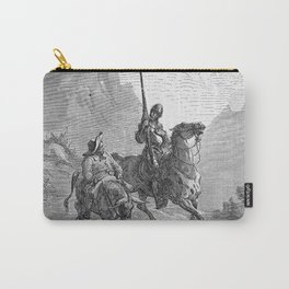 Don Quijote Carry-All Pouch
