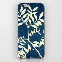 Botanicus (5), Botanical Art Print, Art Print, Botanical Poster, Vintage Print iPhone Skin