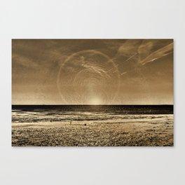 aspiciens ut Sol Temperat Canvas Print