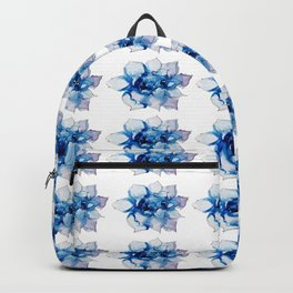 Blue Echeveria Succulent Backpack