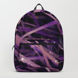 Purple Grass Backpack