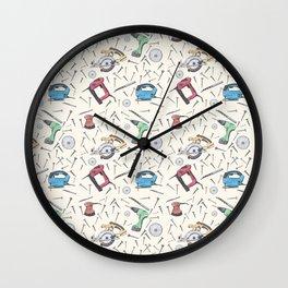 Power Tools Wall Clock