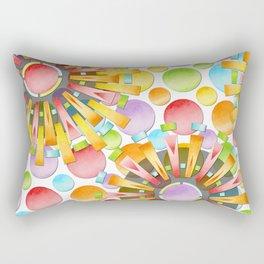 Birthday Party Polka Dots Rectangular Pillow