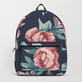 Vitage Roses Backpack