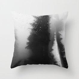 What Lies Down Hidden Rain Drenched Paths Throw Pillow