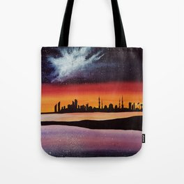 Abu Dhabi, watercolor Tote Bag
