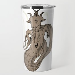 Capricious Capricorn Travel Mug