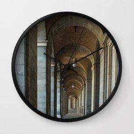 Enfilade right, Royal palace, Madrid Wall Clock