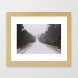 Pathetic Fallacy Framed Art Print