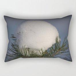Snow Egg Rectangular Pillow