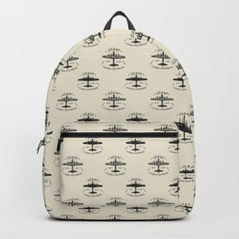 B17 Bomber Courageous Print Backpack
