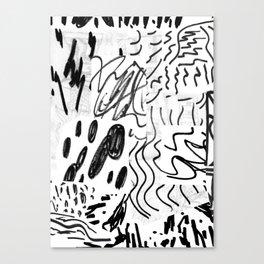 rumours Canvas Print