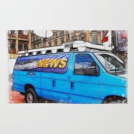 News Hound Rug