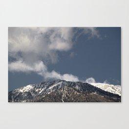 Winter in the San Gabriel Mountains Canvas Print