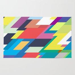 Layers Triangle Geometric Pattern Rug