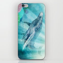 Mother Humpback Whale iPhone Skin