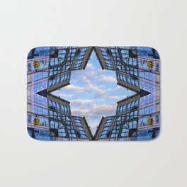 Blue Sky by Lika Ramati Bath Mat