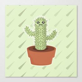 Kawaii Cactus Canvas Print