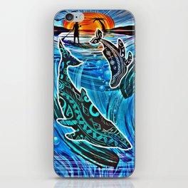 Whales Tale iPhone Skin
