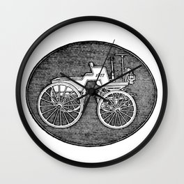 Old car 6 Wall Clock