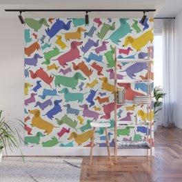 Hotdog Party Wall Mural
