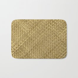 Basket Weaving Bath Mat