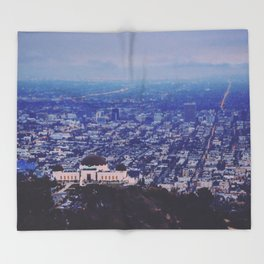 Griffith Observatory Throw Blanket