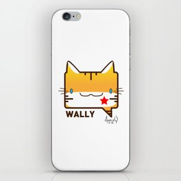 Convo Cats! Wally iPhone Skin