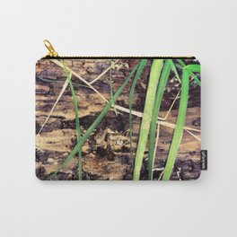 Rotting Wood & Grass Carry-All Pouch