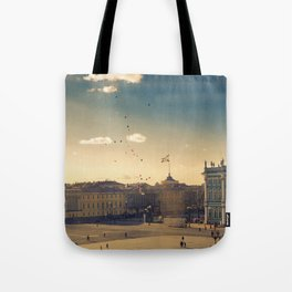 Ballons on Palace Square, St. Petersburg Tote Bag