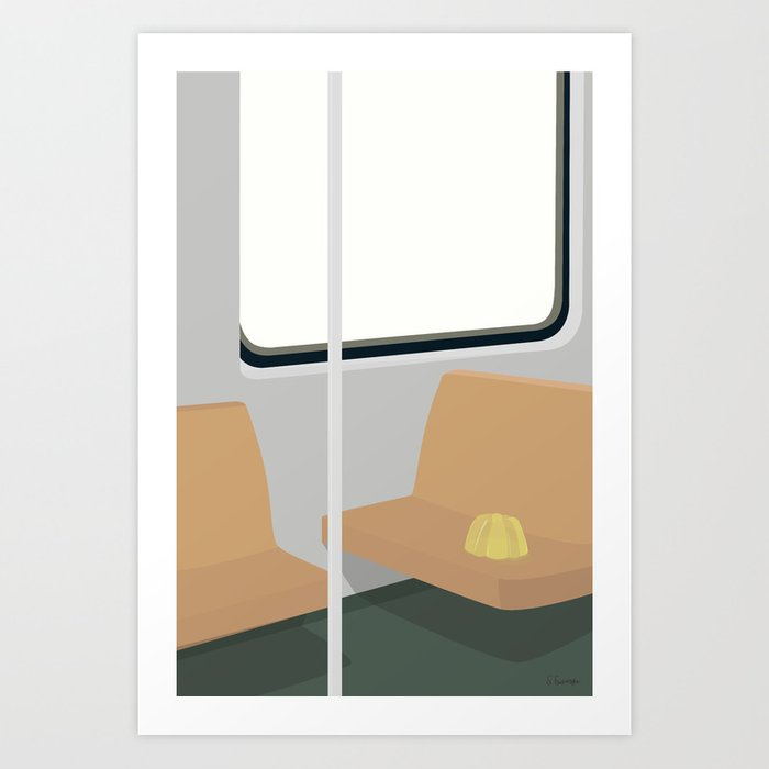 SPORVOGN Art Print