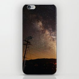 The Salty Raven of Cape Meares Milky Way iPhone Skin