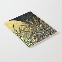 """Golden aloe Zebra midnight sun"" Notebook"
