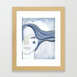 The Chosen Moth by Alma Stoller Framed Art Print