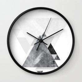 GEOMETRIC SERIES II Wall Clock