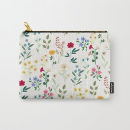 Spring Botanicals Carry-All Pouch