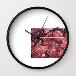 Juicy at The Rose Yarde Wall Clock