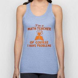 Math Teacher Unisex Tank Top