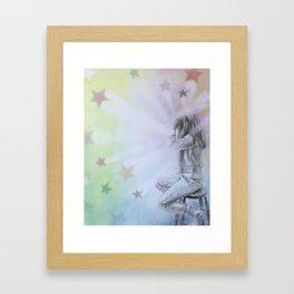 Of The Stars Framed Art Print
