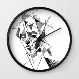 peter murphy 3 Wall Clock