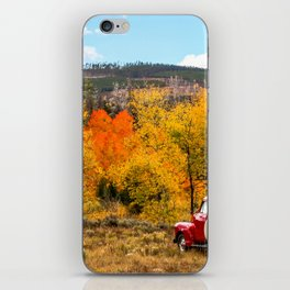 Old Chevy In The Fall iPhone Skin