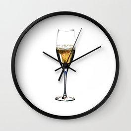 Champagne 1 Wall Clock