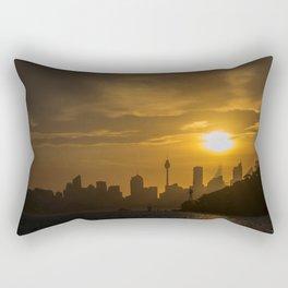 Sunset in Sydney (Australia) Rectangular Pillow