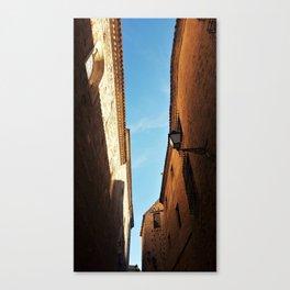 Toledo Streets Canvas Print